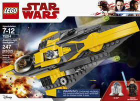 LEGO Star Wars TM Le Jedi Starfighter d'Anakin 75214