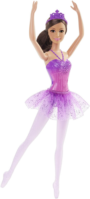 Barbie Purple Ballerina Doll