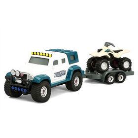 Tonka Hitch'em Up Vehicles 4x4 with ATV