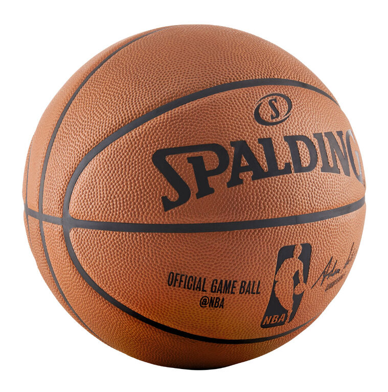 Spalding Ballon de jeu officiel NBA