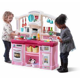 Step2 - Just Like Home - Cuisinette pour s'amuser entre amis - Rose - Notre Exclusivité
