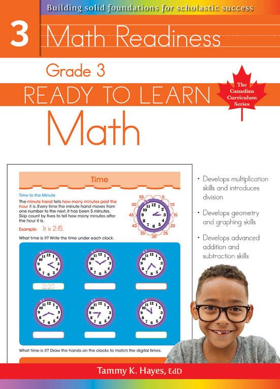 Grade 3 - Ready To Learn Math - English Edition