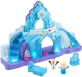 Disney - La Reine des Neiges - Le Palais de glace d'Elsa de Little People