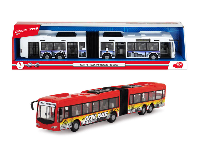 City Express Bus- Red