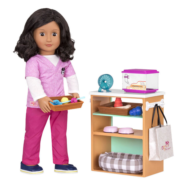 Our Generation, Pet Store Playset for 18-inch Dolls
