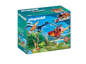 Playmobil - Adventure Copter with Pterodactyl (9430)