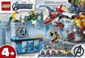 LEGO Super Heroes La colère de Loki 76152