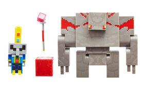 Minecraft - Dungeons Illiager - Golem Figures