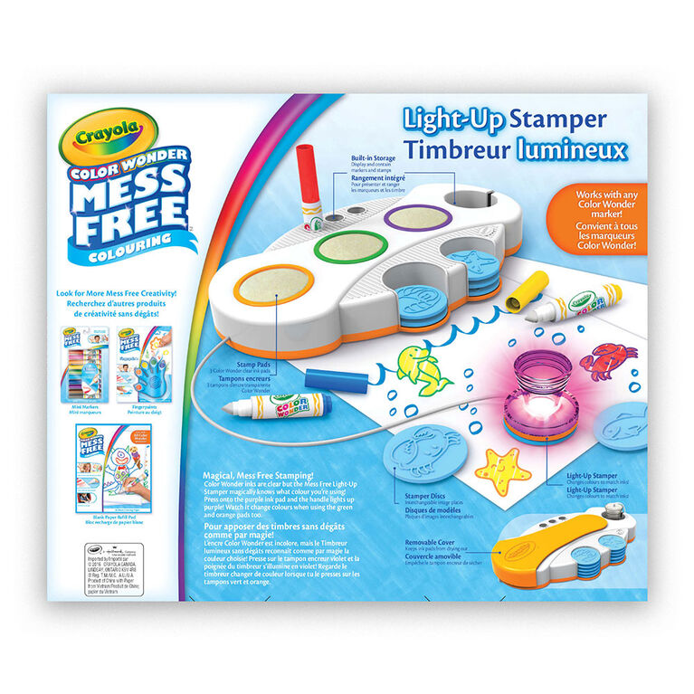 Crayola - Color Wonder Mess Free Light-Up Stamper