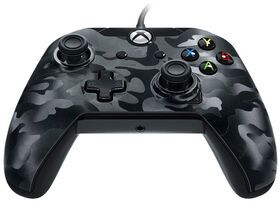 Xbox One Controller Wired Black Camo