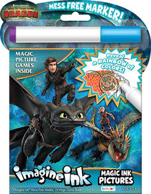 How To Train Your Dragon Imagine Ink