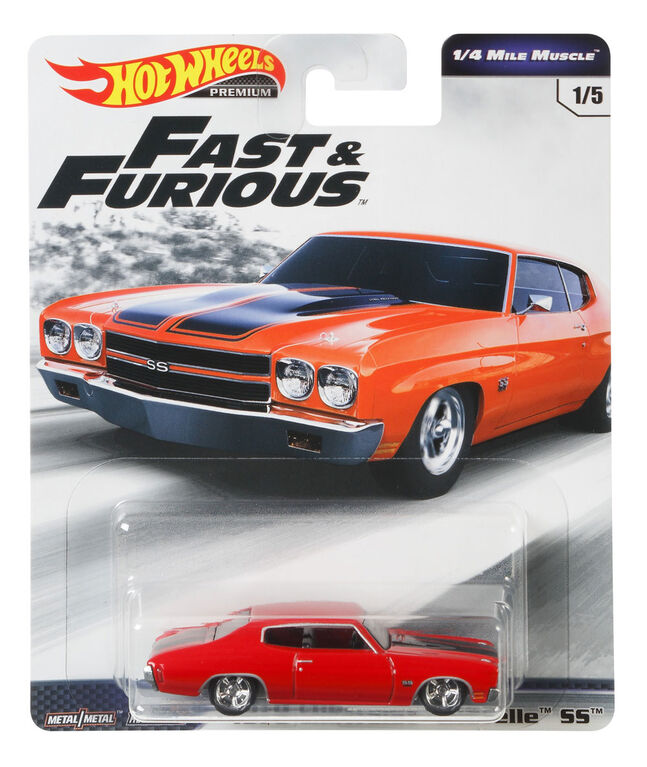 Hot Wheels 1970 Chevelle SS Vehicle, Red
