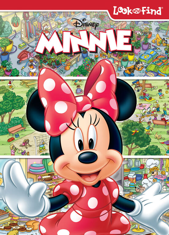 Look And Find Minnie Mouse Recover - Édition anglaise
