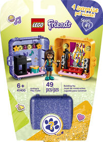 LEGO Friends Le cube de jeu d'Andréa 41400