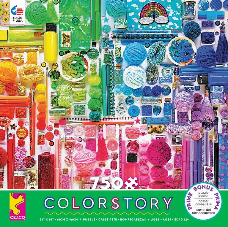 Ceaco: Colorstory - Rainbow Jigsaw Puzzle (750pc)