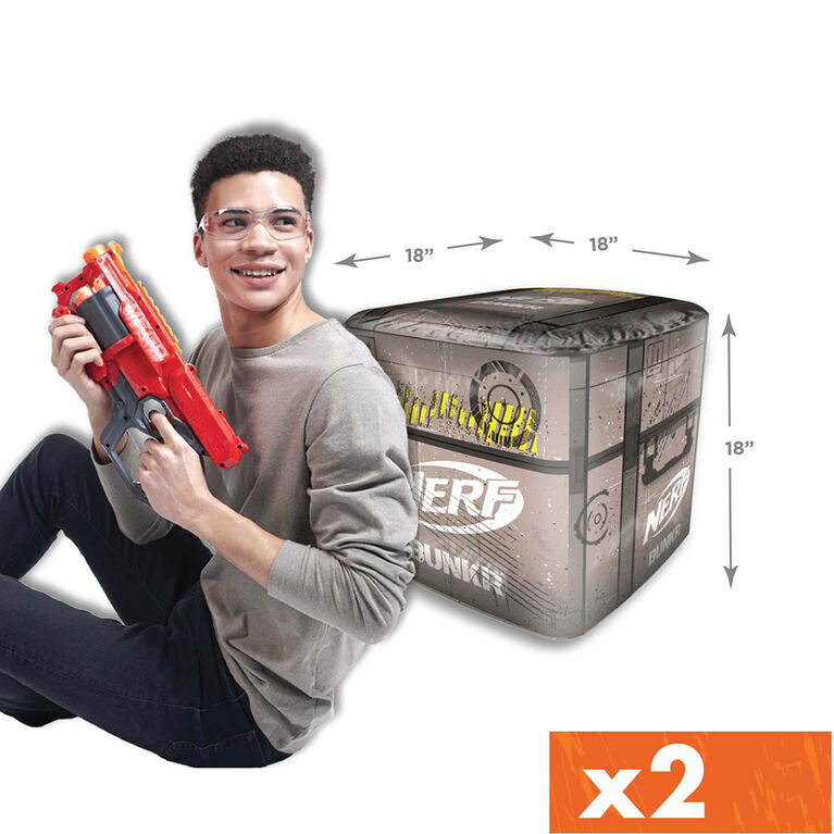 NERF BUNKR Battle Stackers