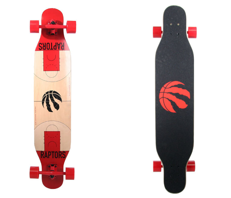"Toronto Raptors 42"" Longboard"