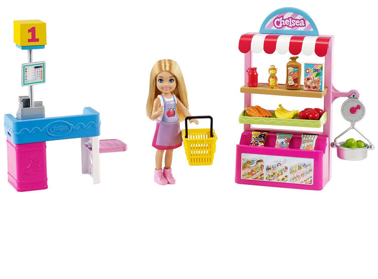 Barbie Chelsea Can Be Chelsea Doll & Snack Stand Playset