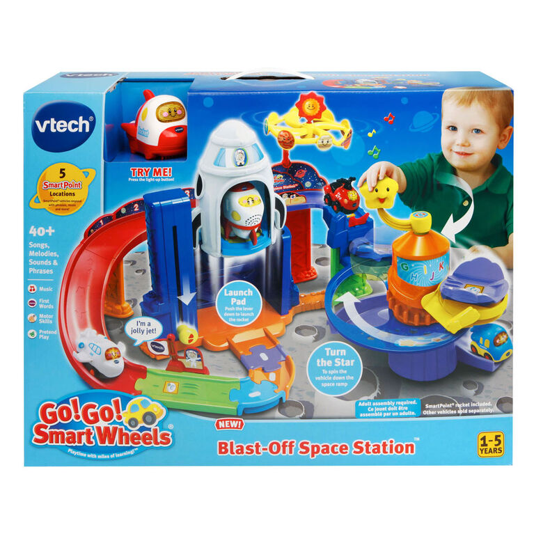 Go! Go! Smart Wheels Blast-Off Space Station - English Edition