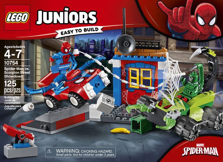 LEGO Juniors Spider-Man vs Scorpion Street Showdown 10754