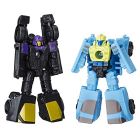 Transformers Generations War for Cybertron: Siege Micromaster WFC-S32 Decepticon Sports Car Patrol.
