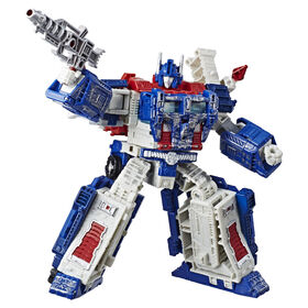 Transformers Generations War for Cybertron: Siege Leader Class Ultra Magnus Action Figure
