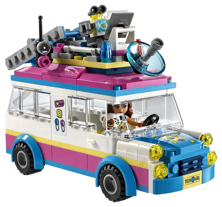 LEGO Friends Olivia's Mission Vehicle 41333