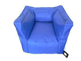 Boscoman - Blue Bean Bag Chair - Blue