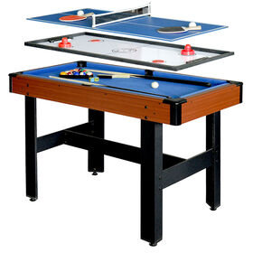 Table multi jeux Triad 3-en-1 de 122 cm (48 po)