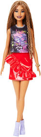 Barbie Fashionistas Doll #123 - Braided Hair