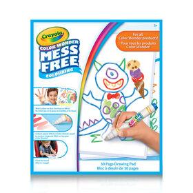 Crayola - Bloc à dessin Color Wonder
