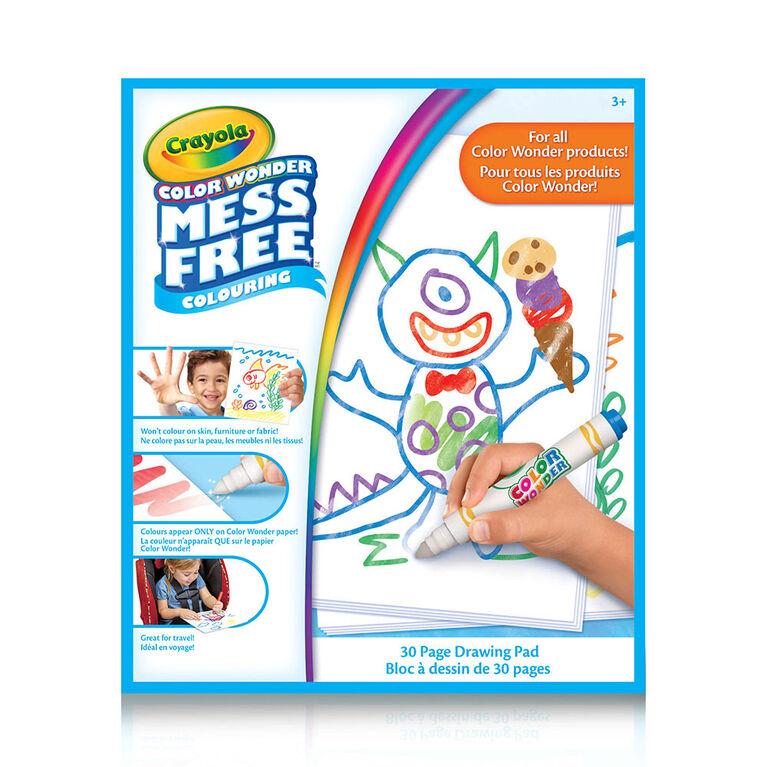 Crayola - Color Wonder Drawing Pad