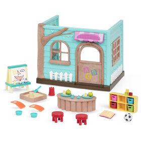 Li'l Woodzeez, Li'L Luvs & Hugs Nursery Playset