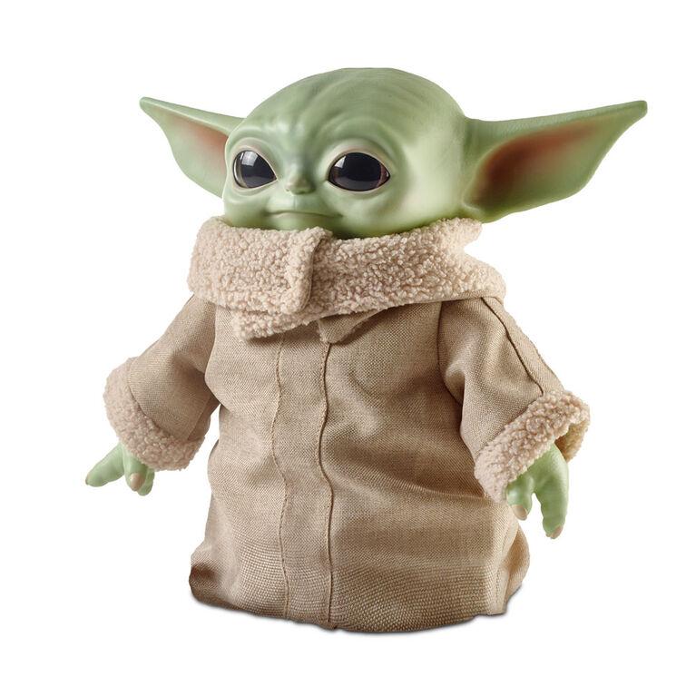 Peluche L'Enfant de la franchise «Star Wars», 28 cm (11 po), petite figurine douce ressemblant à Yoda de l'émission «The Mandalorian» (Le Mandalorien)