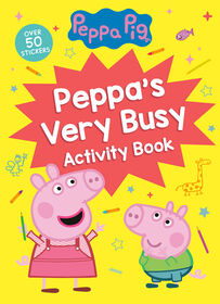 Peppa's Very Busy Activity Book (Peppa Pig) - Édition anglaise