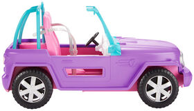 Barbie Purple Jeep