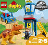 LEGO DUPLO Jurassic World La tour du T-Rex 10880