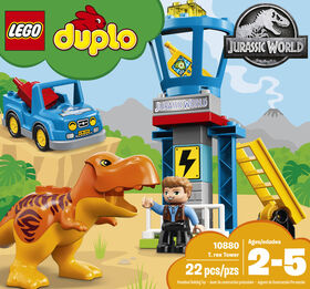LEGO DUPLO Jurassic World T-Rex Tower 10880