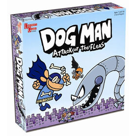 Dog Man Attack of the Fleas - Édition anglaise