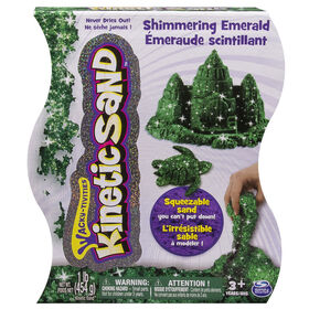 Kinetic Sand 1lb Shimmering Emerald Green