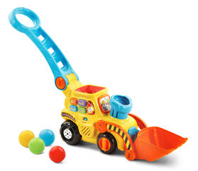 Vtech - Pop-a-Balls Push & Pop Bulldozer - English Edition