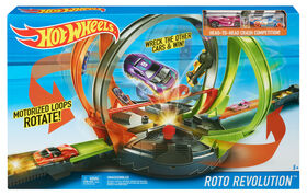 Hot Wheels - Coffret piste Roto Revolution.