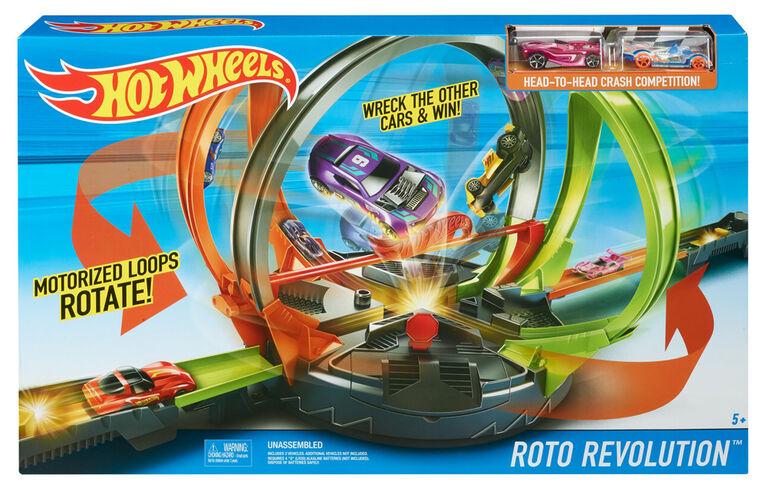 Hot Wheels - Coffret piste Roto Revolution.