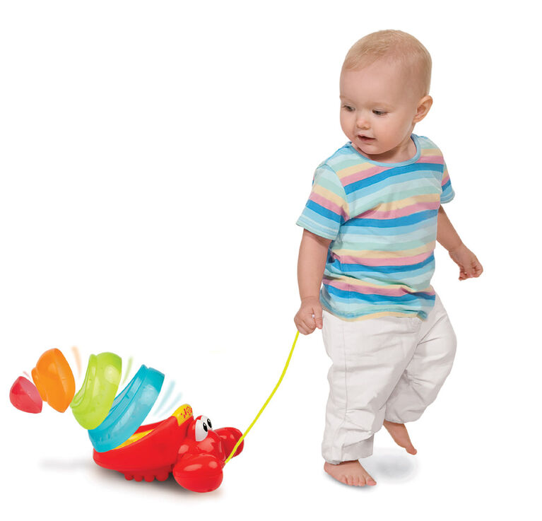 Imaginarium Baby - Pull Along Crab Stacker