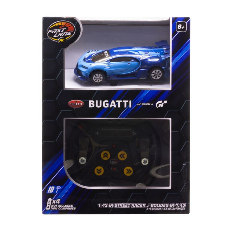 Fast Lane RC – Bolides IR 1:43 – Bugatti Vision GT