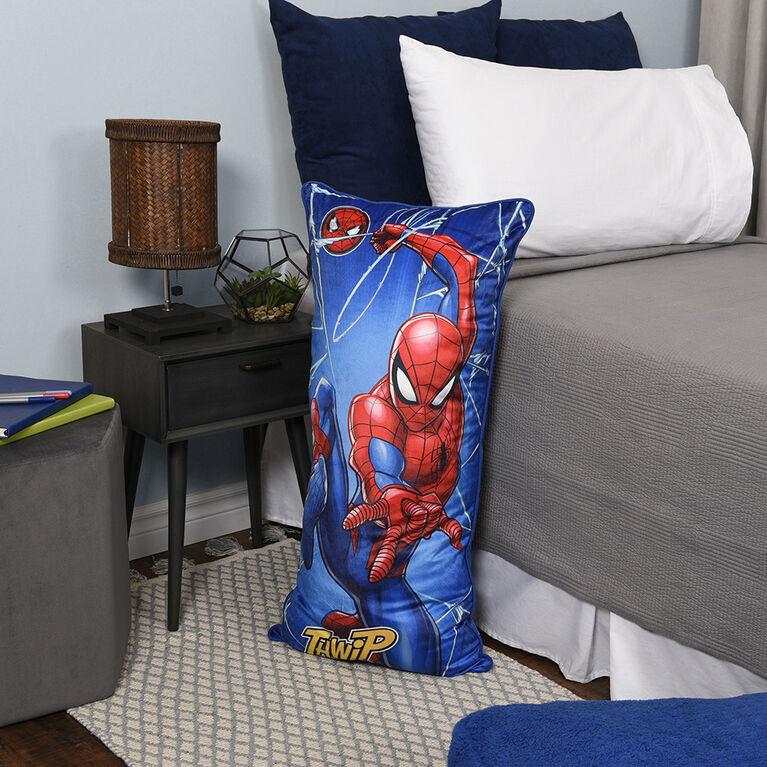 Oreiller de corps à câliner de Spiderman Marvel