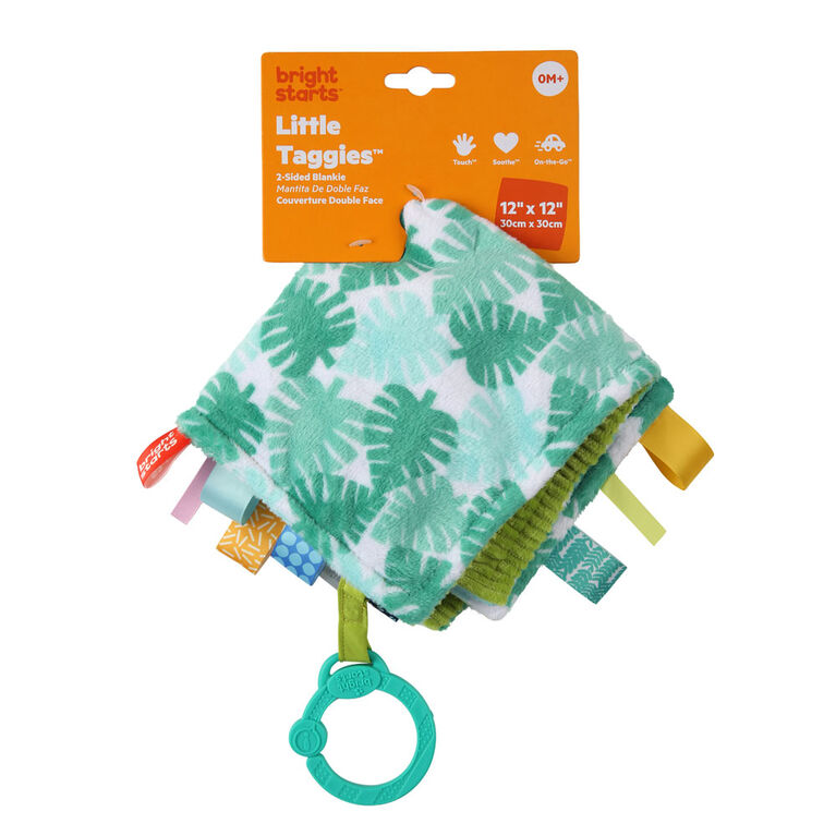 Little Taggies 2-Sided Blankie - Palms