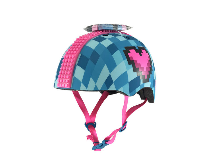 Child Block Hawk Hearts Helmet