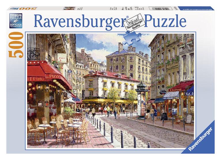 Quaint shops - 500 Piece Puzzle