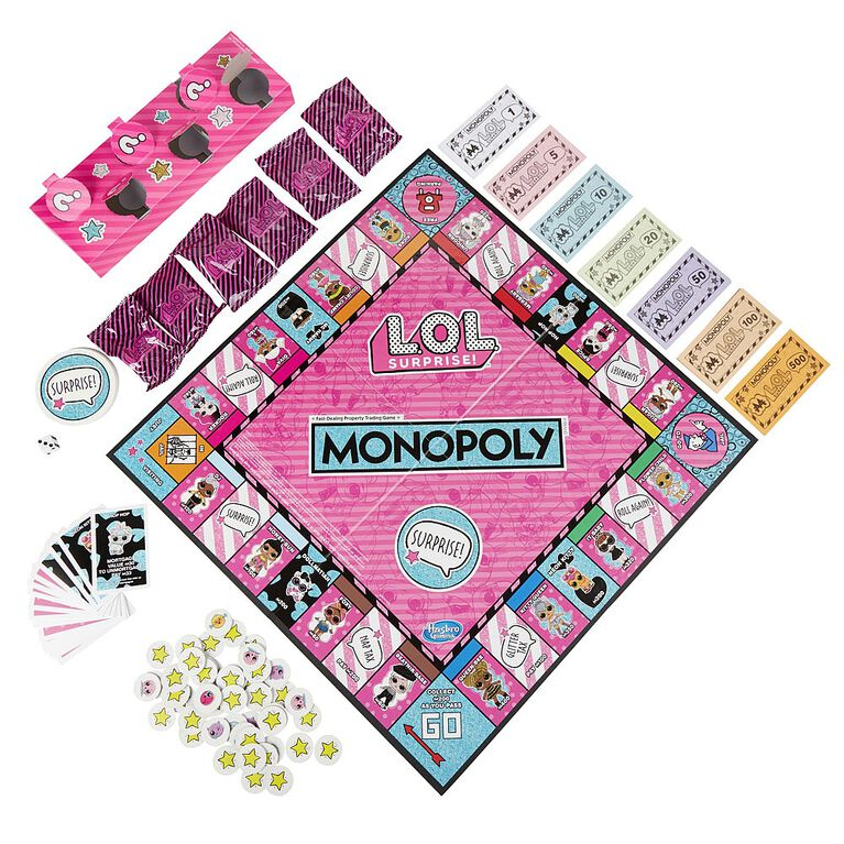 Monopoly Game: L.O.L. Surprise! Edition - English Edition